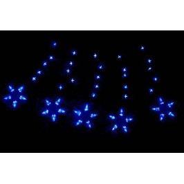 Vianočné osvetlenie 100 LED hviezdy