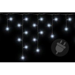 Vianočný svetelný dážď 400 LED studená biela - 7,8 m