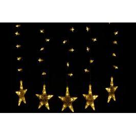 Vianočná dekorácia - Svietiace hviezdy - sada, 100 LED diód