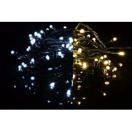 Vianočná reťaz - 19,9 m, 200 LED, 9 blikajúcich funkcií