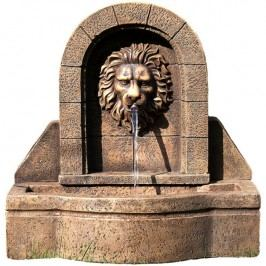 OEM M01411 Záhradná fontána - fontána levia hlava 50 x 54 x 29 cm