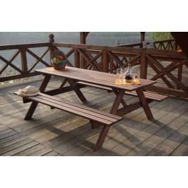Dřevěný PIKNIK set - 220CM