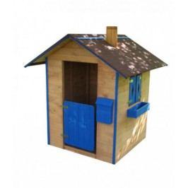 Detský drevený domček