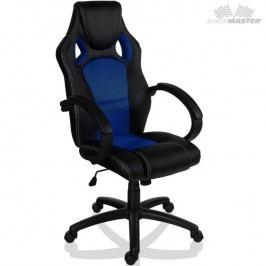 Otočná kancelárska stolička MODRÁ GS Series