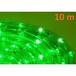 OEM D00586 LED svetelný kábel 10 m, zelená, 240 diód