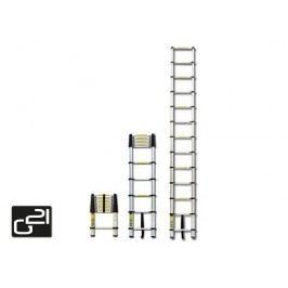 Teleskopický rebrík G21 GA-TZ7 -2M Hliníkový