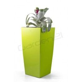 Samozavlažovací kvetináč G21 Linea zelený 39cm