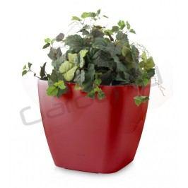 Samozavlažovací kvetináč G21 Cube maxi červený 45cm