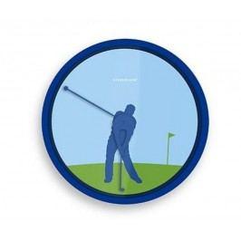 Kikkerland Nástěnné hodiny Golfista