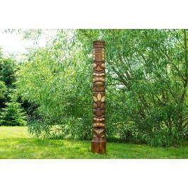 Drevenná socha Tiki 150 cm