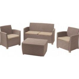CORONA set + BOX cappucino / pieskové pod.