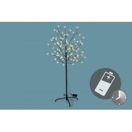LED vianočná dekorácia - Svetelný strom - 96 LED 150 cm