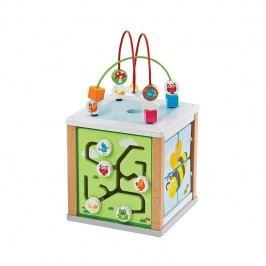 Lelin Aktivity kocka/ drevené hračky