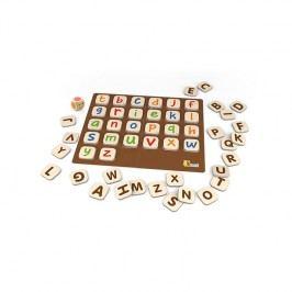 Viga Učíme sa abecedu / drevené hračky