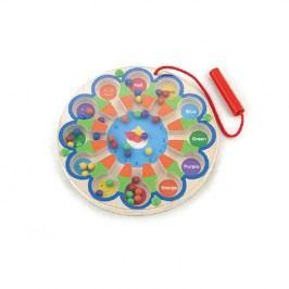 Viga Magnetické hodinky / drevené hračky