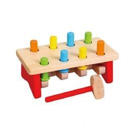 Viga Zatĺkanie kolíkov / drevené hračky