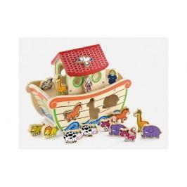 Viga Triedič tvarov- Noemova archa / drevené hračky