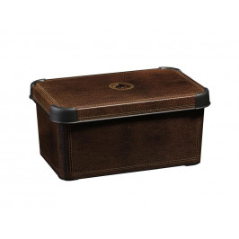 Box, umelá hmota, hnedy