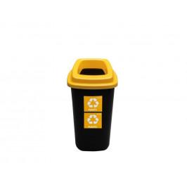 Kôš na odpad 45l žltý