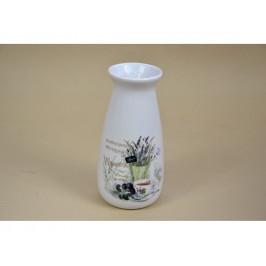 Váza 9,5x9,5x19,7cm Levanduľa