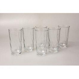 Pohár sklo 6ks na vodu245ml