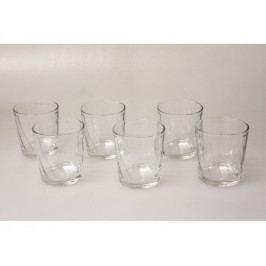 Pohár sklo 6ks na whisky 250ml