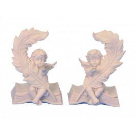 Anjel na knihe 9,5cm 2386