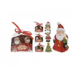 Dekorácia vianočná 9cm mix