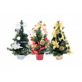 Stromček vianočný 40cm mix