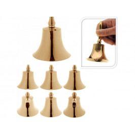 NIKEL zvonček 11cm 6mix ZLA