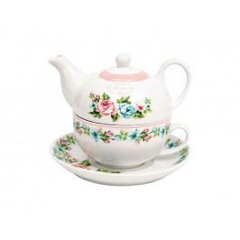 Čajník+šálka s podšálkou marin