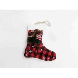 Dekorácia vianočná čižma