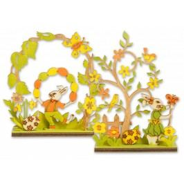 Zajac dekorácia 12x14cm47870
