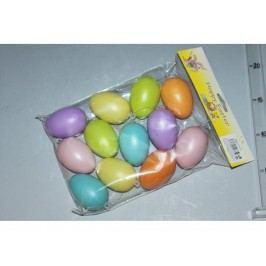Vajcia s/12 farebné 6cm