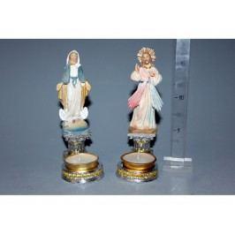 Panna Mária svietnik/Ježiš