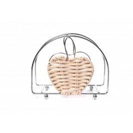 Stojan na servítky jablko