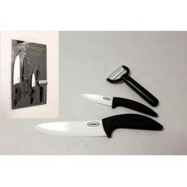 Nože ker.2ks+škrabka+kryt