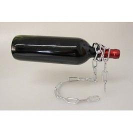 Stojan na vínovú fľašu – reťaz