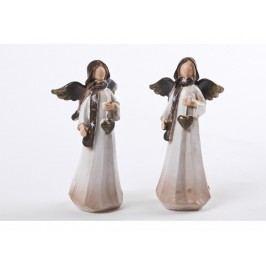 Anjel so srdcom 12,5cm s/ 2ks