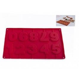 Forma silikón čísla 29x17cm