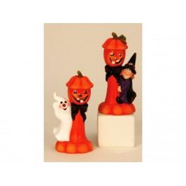 Halloween s LED 21cm mix 1391