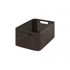 Úložný box Rattan Style2 - M - hnedá
