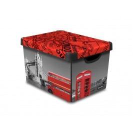 Dekoratívny úložný box - L - London