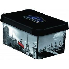 Dekoratívny úložný box - S - PARIS
