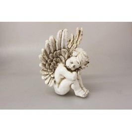 Anjel dekorácia 29x19x16cm