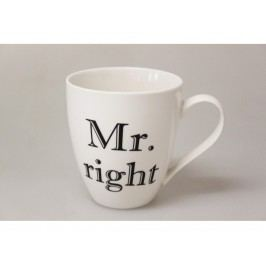 Hrnček Mr. Right 610ml 10100