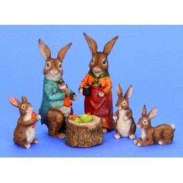 Zajac sada 6ks 6-17cm 9783