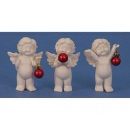 Anjel s guľou 11cm mix 8733