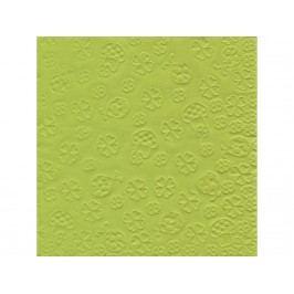 Servítky 33/3/16 embos -zelené