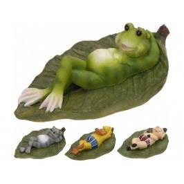 Zviera na liste plávajúce mix